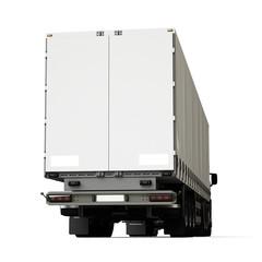 Truck trailer rear