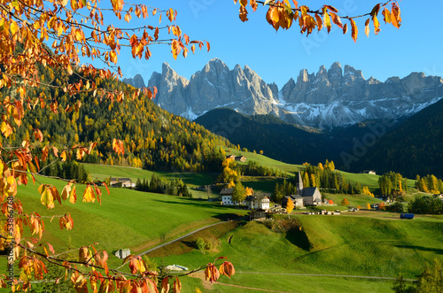 St. Magdalena in the Dolomites