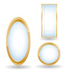 Mirrors set.