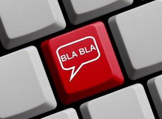 Bla, Bla - Dummes Gequatsche online