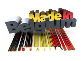 Made in Belgium, quality