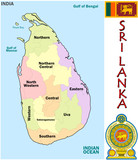Sri Lanka Asia national emblem map symbol motto