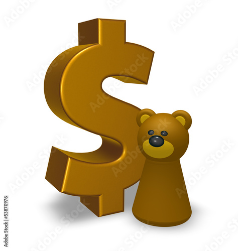 dollar und bär