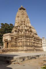 Vamana temple at Khajuraho.India.
