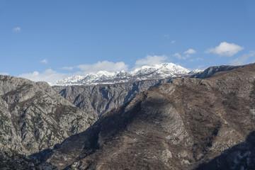 Wild mountain landscape