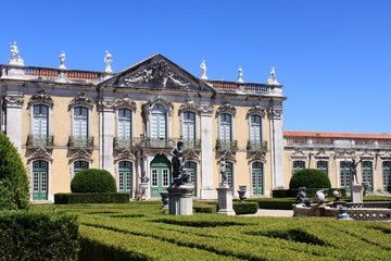 Palace of Queluz in Lisbon, Portugal