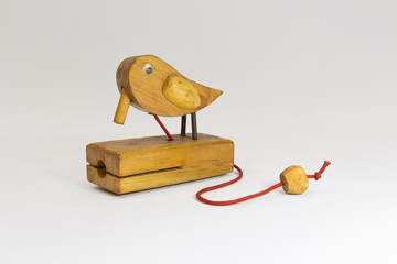 Wooden bird Used