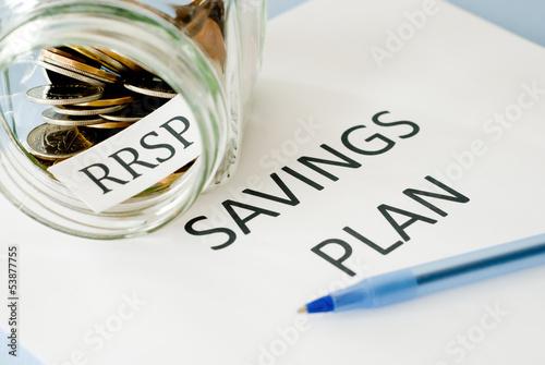 RRSP savings plan