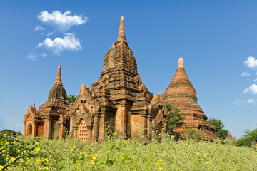 temple in Bagan, Burma