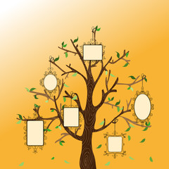 Vintage memories tree