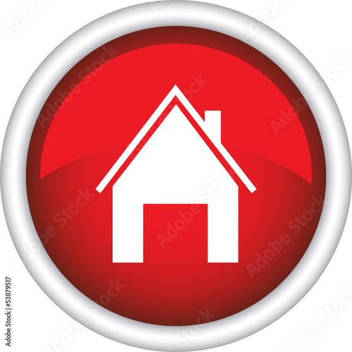 Иконка, символ, дом, адрес из natalipopova2011 ...: ru.fotolia.com/id/53879517