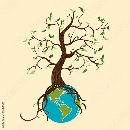 Go green tree world