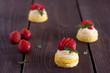 strawberry mini cake