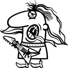 rockman cartoon coloring page