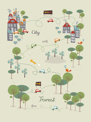 Go green city design