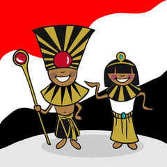 Welcome to Egypt people