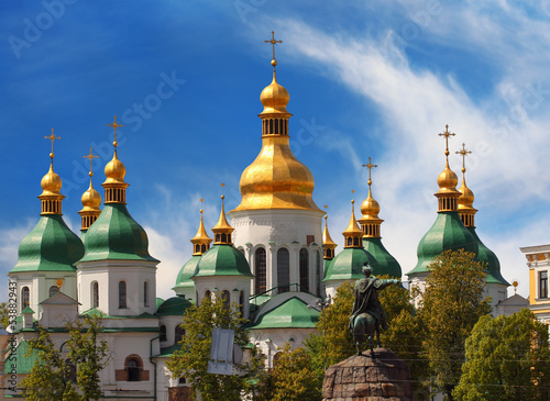 Domes of St Sophia Cathedral