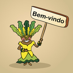 Welcome to brazil  people design