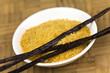 Vanille-Stange mit Braunzucker