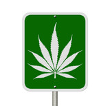 Driving Under the Influence of  Marijuana poster