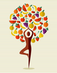 India yoga fruit tree