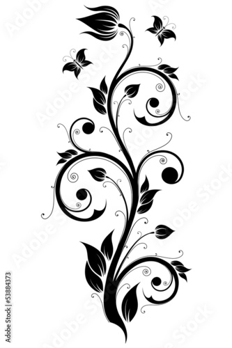 Floral Design Ornament