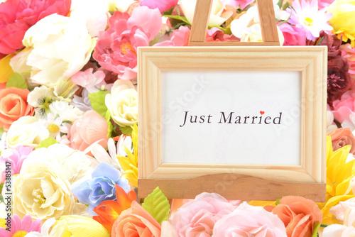 メッセージ―Just Married