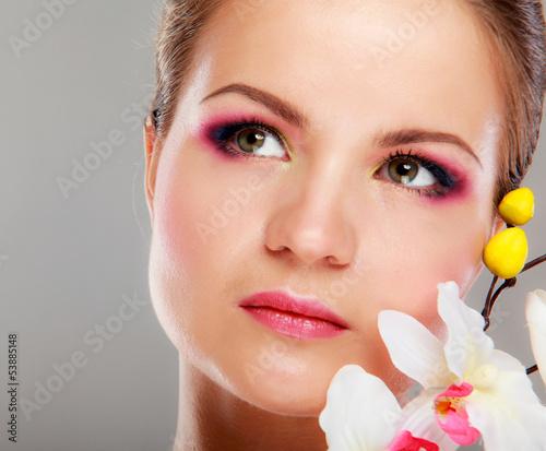 Fototapeten,gesicht,frau,profile,close-up