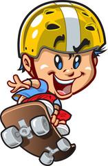 Cool Little Skateboard Guy