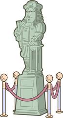 Historical Figure Statue