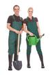 Couple Of Garden Worker