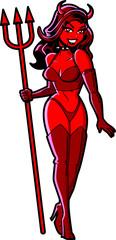 Sexy Devil Girl