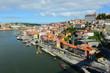 Porto Old City and River Side View, Porto, Portugal