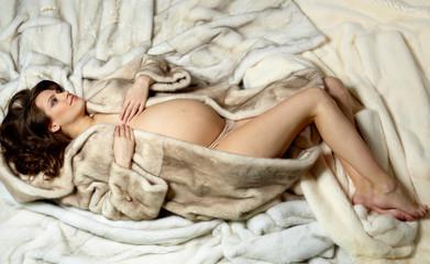 Luxurious woman