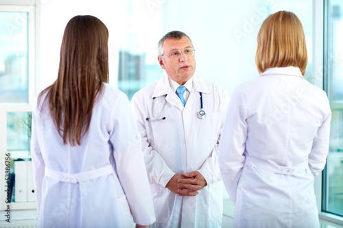 Talking to nurses