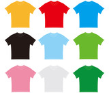 t-shirt t shirt template set collection