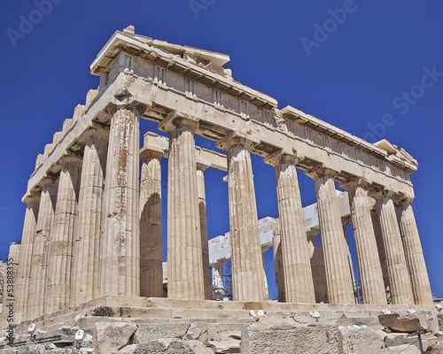 Staande foto Athene Parthenon, ancient Greek temple, Acropolis of Athens