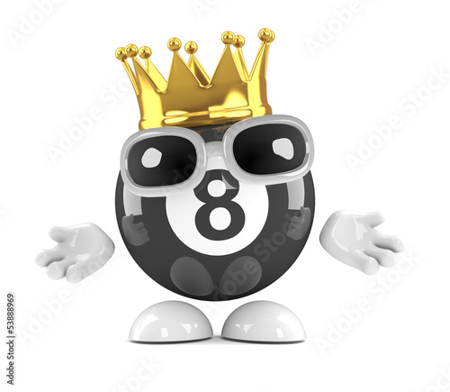 8 ball is king