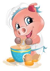 pig cook