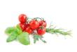 Tomaten und kraut