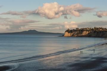 Long Bay and Rangitoto Island