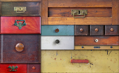 in utter secrecy - various drawers