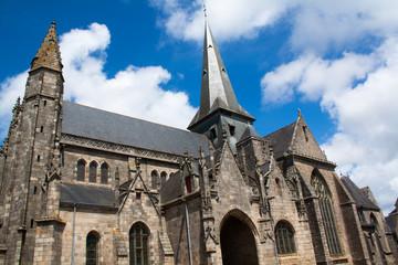 La collégiale Saint Aubin de Guérande