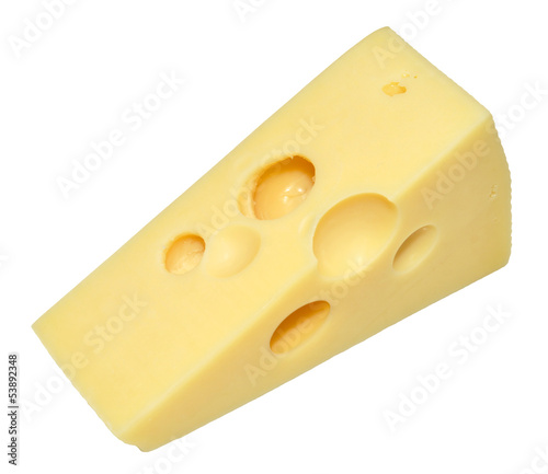 Emmental Cheese Wedge