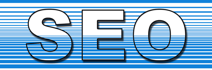 SEO Blue Stripe Background