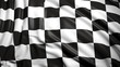 Finishing checkered flag - 53893356