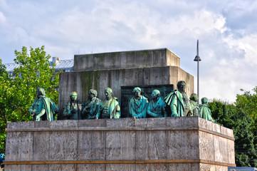 Colonia, monumento de Guillermo III de Prusia
