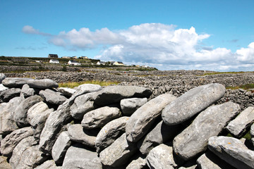 Drywall in Inisheer, Aran Islands
