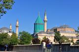 Mevlana - sufi center in Konya poster