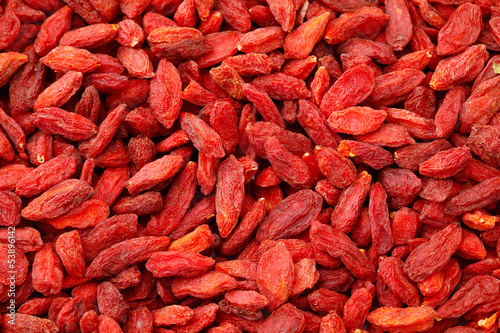 Dried wolfberry fruit